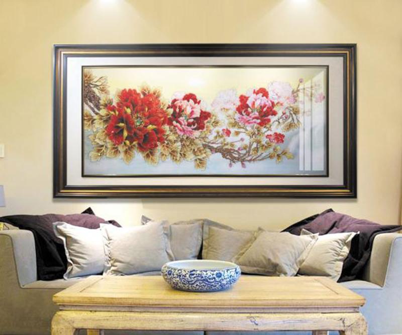 bức tranh treo tường hợp phong thủy