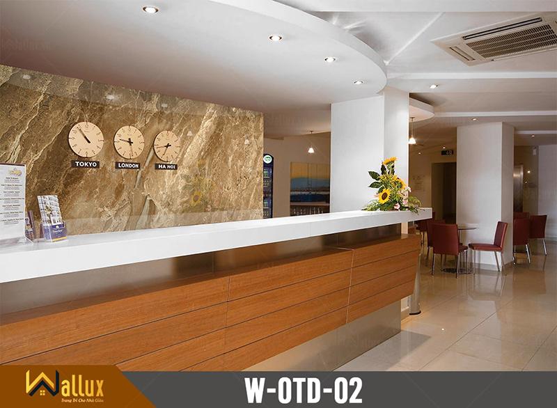 Tấm ốp tráng gương vân đá Wallux W-OTD-02