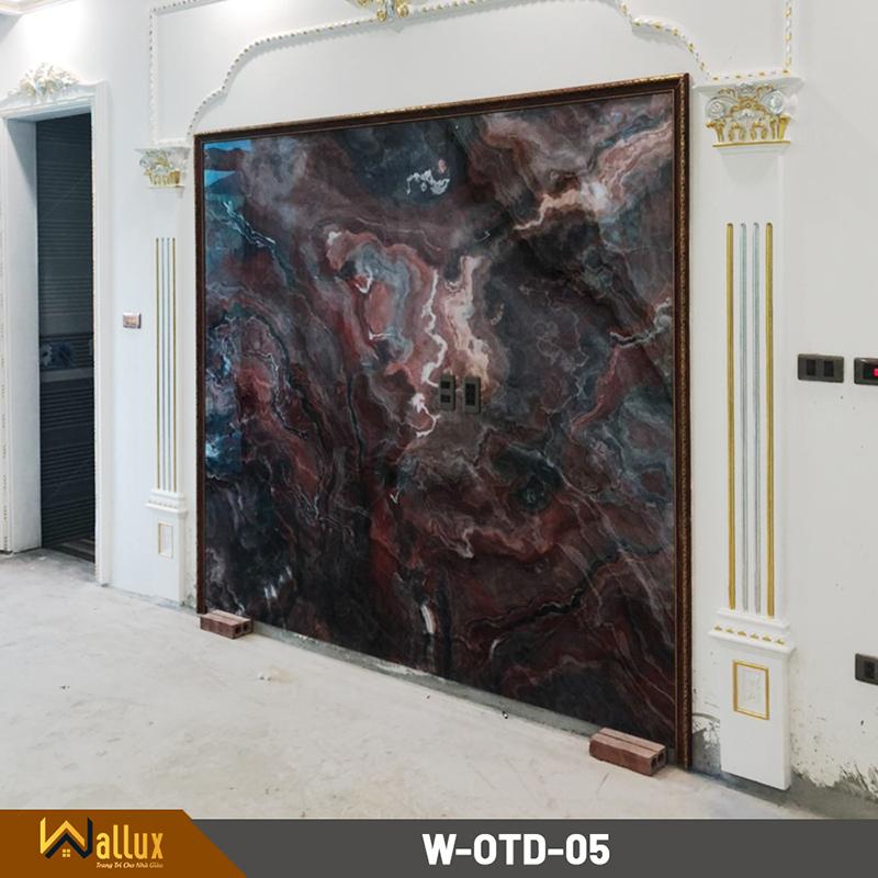 Tấm ốp tráng gương vân đá Wallux W-OTD-05