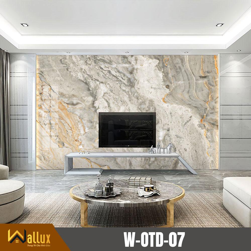 Tấm ốp tráng gương vân đá Wallux W-OTD-07