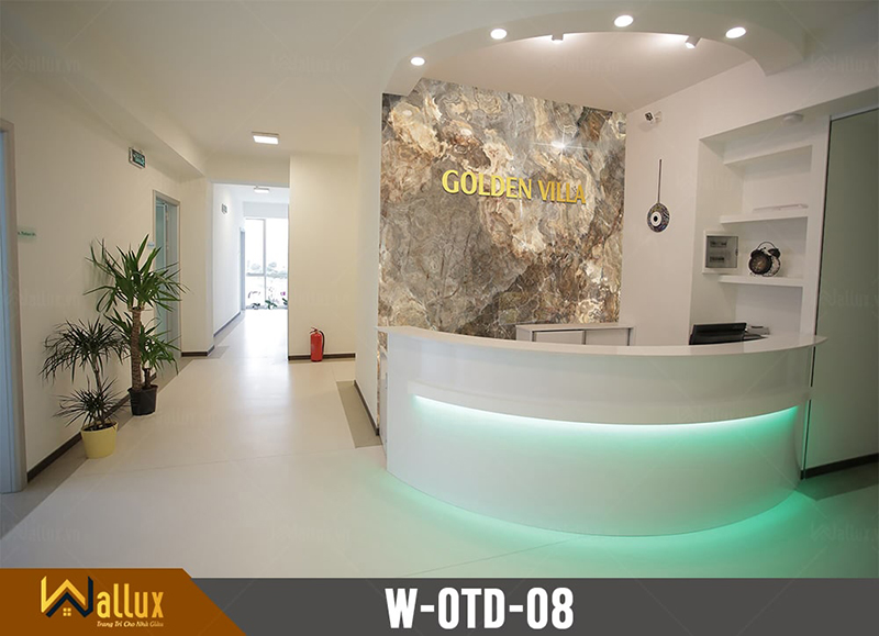 Tấm ốp tráng gương vân đá Wallux W-OTD-08