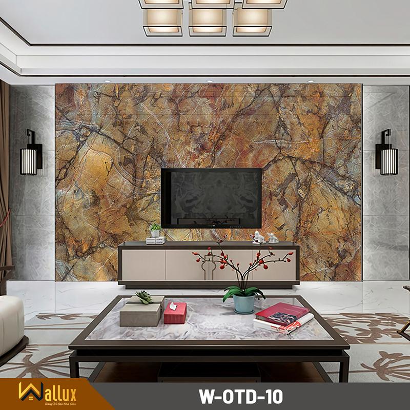 Tấm ốp tráng gương vân đá Wallux W-OTD-10