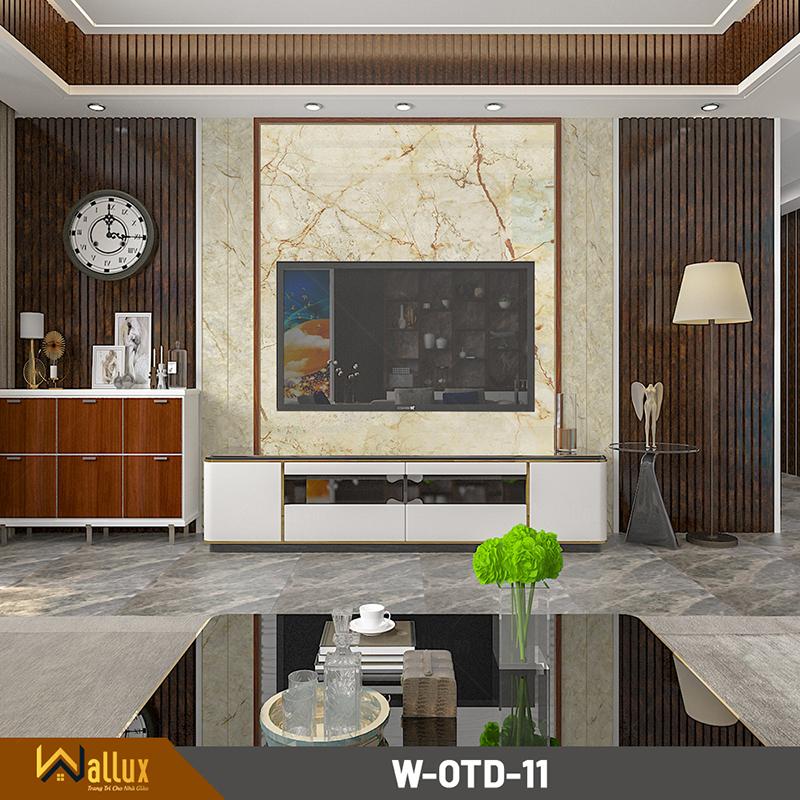 Tấm ốp tráng gương vân đá Wallux W-OTD-11