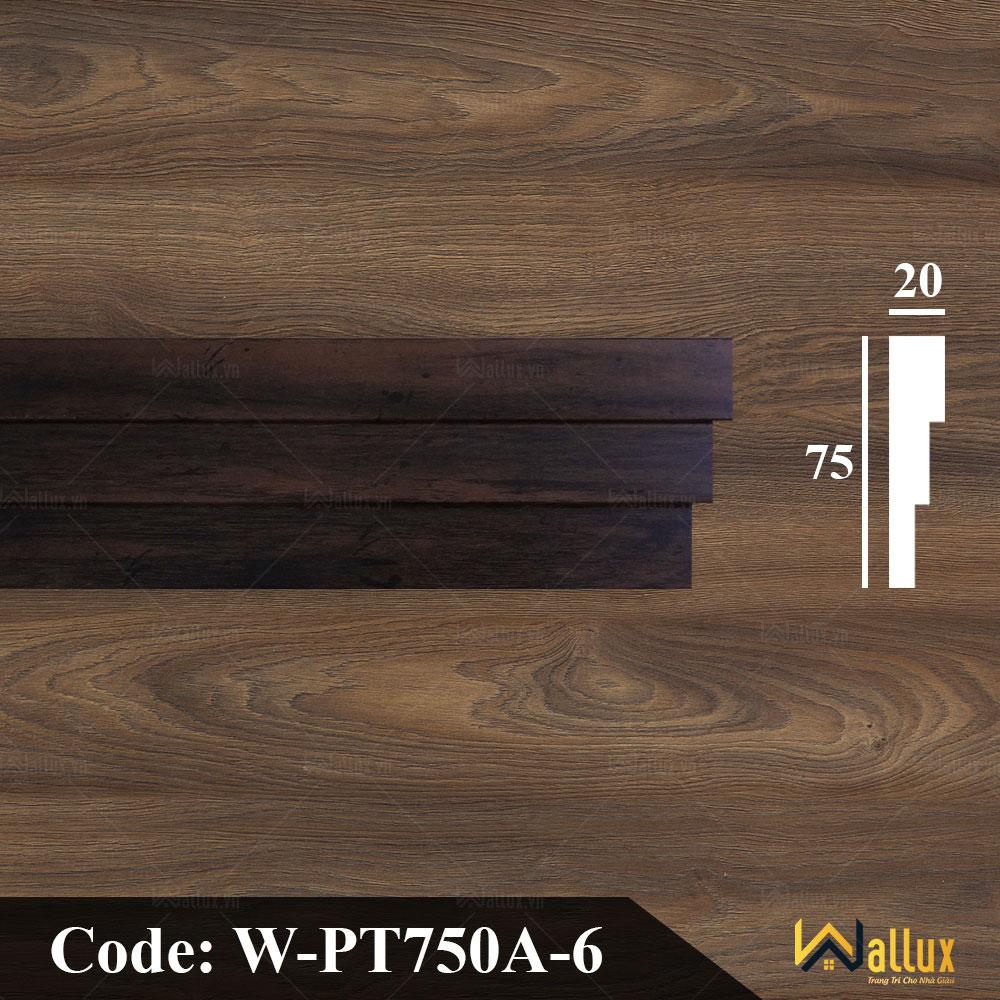 Phào trần, nẹp tường Wallux W-PT750A-6