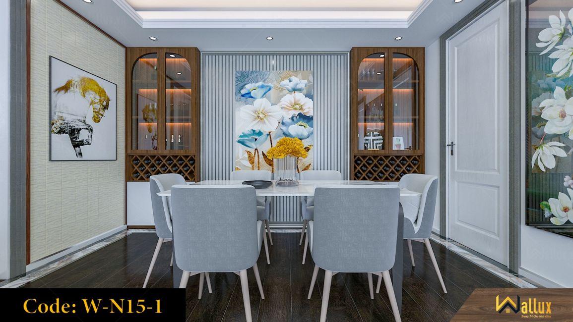 Phòng mẫu tấm ốp tường Wallux W-N15-1